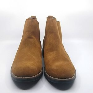 Bruno Marc brown suede ankle boots size 12